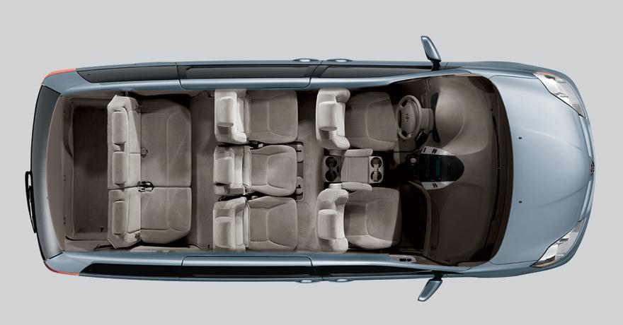 Spacious Minivan Amp 8 Passenger Van Rentals Readivan San
